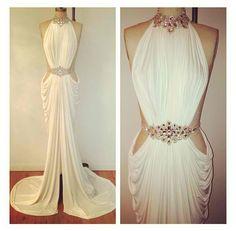 Stunning reception dress
