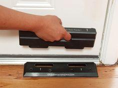 Security Door Brace. The OnGARD OnGUARD Prevents Burglaries & Home Invasions