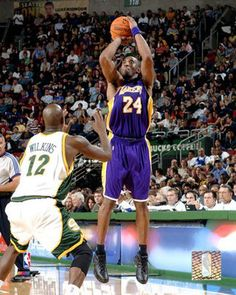 Kobe Bryant Superlative footwork, supreme command of the English language and the most important quality an athlete can have...The Will To Prepare