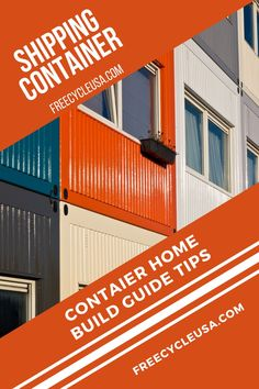 When building a shipping container home, there are several things you need to know to ensure your home is structurally sound, sustainable, and beautiful. #freecycleusa Building Code, Building Plans, Building A House, Building A Container Home, Container House Design, Shipping Container House Plans, Building Department, House Blueprints, Aesthetic Design