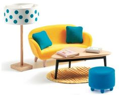 Best djeco modern dollhouses images dollhouse furniture
