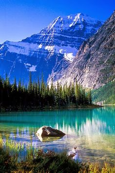 Mount Edith Cavell,Jasper National Park, Canada: