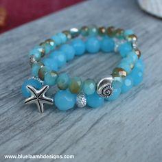 Jewels of The Sea Bracelet Stack | Blue Laamb Designs