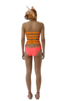 Mileti Pink and Orange Cut Out Swimsuit. Buy at: http://www.thebeachtomatoshack.com/store/view/mileti-pink-and-orange-cut-out-swimsuit/?Pid=337=2