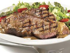 Bifteck d'aloyau à la sauce au poivre | Recettes IGA