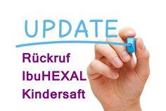 Hexal ruft nun Restbestände von IbuHEXAL® Kindersaft aus den Apotheken
