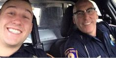 GRAND RAPIDS, Mich. - They say being a police officer often runs in the family.  A Grand Rapids officer worked one of his last shifts with his son overnight. Les Smith is retiring Thursday after 25...