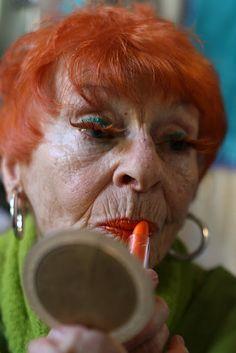 Old Redhead Woman