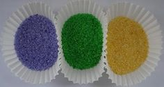 How to make your own colored King Cake sugar