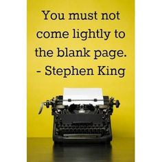 Stephen King on writing Writing Advice, Writing Help, Writing A Book, Writing Studio, Writing Process, Writer Quotes, Book Quotes, Artist Quotes, Life Quotes