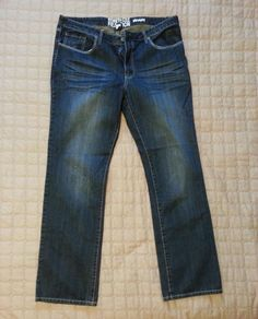 Kenneth Cole Reaction men jeans size 36x32 straight cut (no tags) new 100% Cotto #KennethCole visit our ebay store at  http://stores.ebay.com/esquirestore