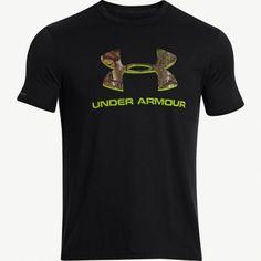 #New Black Under Armour Realtree Xtra Camo Logo Shirt $24.99  #Realtreecamo