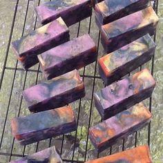 Curing Galaxy soap