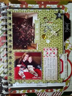 JulieChats: December Daily 2013 with the Heidi Swapp Believe Memory File Album