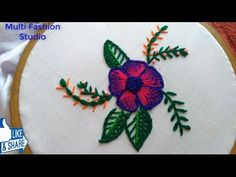 Hand Embroidery/ Hand Embroidery Design For cushion cover / Fantasy Stitch / Checked Stitch Hand Embroidery, Embroidery Designs, Flower Making, Flower Designs, Cushions, Fantasy, Stitch, Make It Yourself, Places