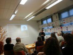 Workshop feiten & fictie met Sander Hartog in het Nijntje museum. Symposium 'De kunst van het schrijven', Centraal Museum, Utrecht, 29-11-2013.