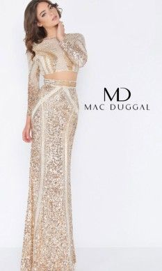 Dresses - Pageant Planet Two Piece Gown, Two Piece Skirt Set, Pageant Dresses, Formal Dresses, Mac Duggal, Sequin Gown, Brand Ambassador, Bodice, Sequins