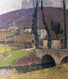 Labastide du Vert Village - Henri Martin