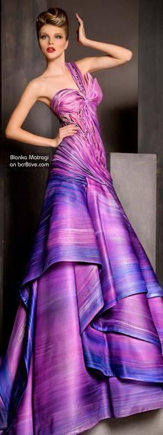 myfashion_diary: Blanka Matragi Haute Couture 2012 by Beambaum Elie Saab, Beautiful Gowns, Beautiful Outfits, Elegant Dresses, Pretty Dresses, Evening Dresses, Prom Dresses, Club Dresses, Estilo Fashion