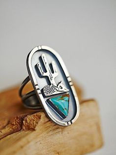 Desert Dreamer Ring | Inspired by jewelry of the Southwest.