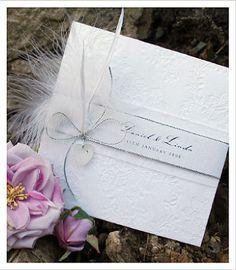Allegria - Lace Wedding Invitations - Huetopia Design