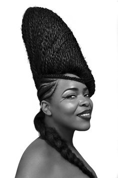 Discover this incredible nigerian hairdo. Shuku has been around for thousand of years and Joanne Sephora has been revisiting this style with her stunning work. Click on the pin to see more!