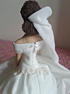 Tilda bride wedding back detail #tilda #bride #wedding