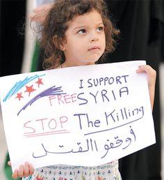 STOP the Killing! Free SYRIA