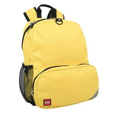The LEGO Heritage Solid Backpack is just the right size for school and everyday use. Available in classic brick colors.