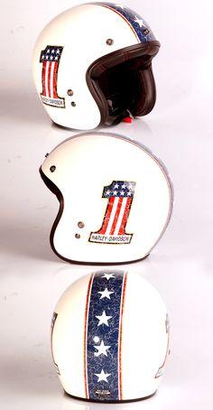 "Harley-Davidson Helmet ""Americana Retro"" Shell made by Bell."