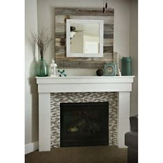 #DiscountVinylFlooring Paint Fireplace, Home Fireplace, Fireplace Remodel, Fireplace Design, Fireplaces, Fireplace Ideas, Plywood Furniture, Home Decor Furniture, Furniture Sale