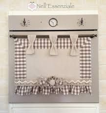 Items similar to Country Nell'Essenziale Oven Cover on Etsy Chabby Chic, Shabby Chic Decor, Small Curtains, Appliance Covers, How To Dye Fabric, Four, Home Textile, Kitchen Decor, Diy Home Decor