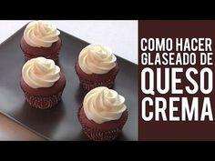 Como Hacer Glaseado de Queso Crema - YouTube