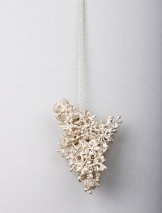 Mari Ishikawa, Germany, Neckpiece: Monophony, 2011, silver, 5,8 x 7,5 x 5,5 cm