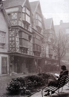 St Peter's Hospital Bristol, destroyed in the blitz 1941