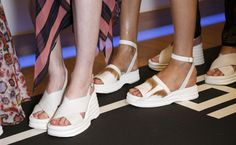 Key Footwear on the Catwalk Trends for Spring/Summer 2017