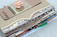 """lots of neat artsy journal ideas, all """"journal"""" tagged posts on a blog"""