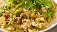 Eén - Dagelijkse kost - Risotto met spruitjes en spek