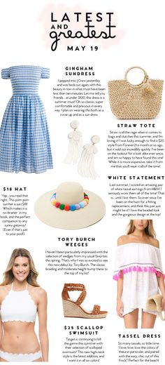 Latest and Greatest   May 19   best fashion and beauty this week    a lonestar state of southern