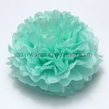 29 colores disponibles!! DIY papel pom poms para decoraciones de la boda de 8 pulgadas (20 cm) 120 unids/lote guirnaldas de flores de papel Hecho A Mano(China)