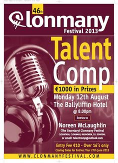 Clonmany Festival Talent Competition #Inishowen