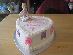 Ballerina cake for my granddaughter, Mikaela