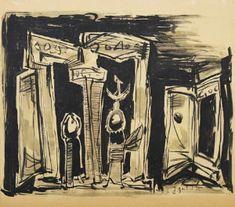 Γαϊτης Γιάννης – Giannis Gaitis [1923-1984]   paletaart - Χρώμα & Φώς Painting, Art, Art Background, Painting Art, Kunst, Paintings, Performing Arts, Painted Canvas, Drawings