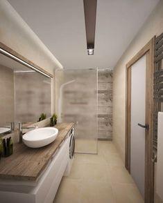 20 Extraordinary Small Bathroom Designs For Small Space 19 - inspiredeccor Small Space Interior Design, Bathroom Design Small, Bathroom Layout, Bathroom Interior Design, Modern Bathroom, Bathroom Designs, Bad Inspiration, Bathroom Inspiration, Bathroom Essentials