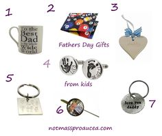 Fathers Day Gift Ideas from the Kids | Not Mass Produced