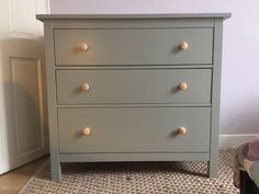 Upcycled Ikea Hemnes Chest of 3 Drawers