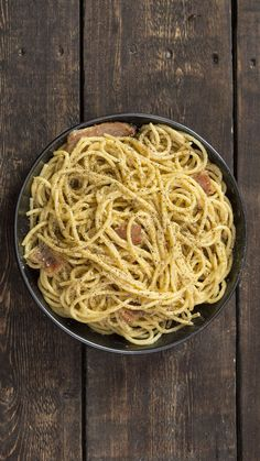 Creamy, classic carbonara doesn't need to be complicated to be delicious.