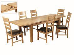 Elmwood Extension Dining Set