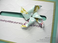 stampinup, dostamping, dawn olchefske, demonstrator, 2013 spring catalog, pinwheel sizzlit, Wishes Your Way, spinner card tutorial, cloudy day, Sycamore Street DSP