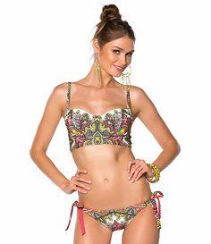8702fdce09f Available at Dillards.com #Dillards Bustier Top, Bikini Swimwear, Becca  Swimwear,